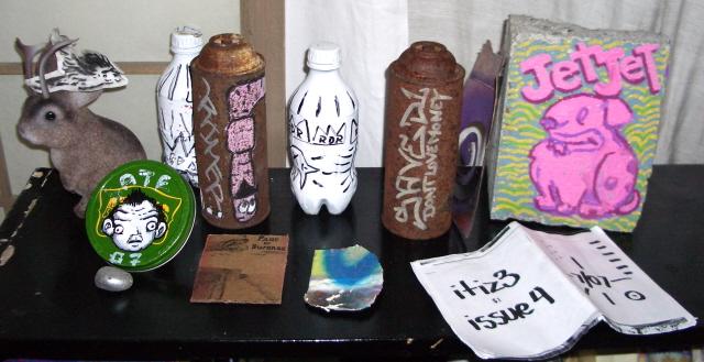 Street Art Collection at Cast Off Art Studio