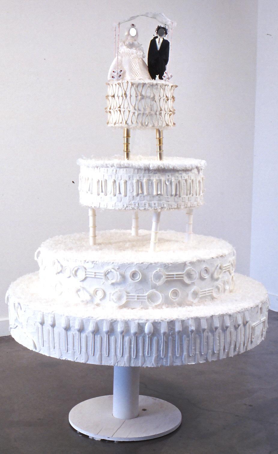 White Trash Wedding Cake by Diane Kurzyna 2002
