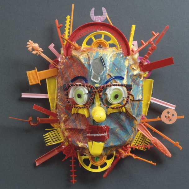 Big sun mask by diane kurzyna ruby re usable for Usable things made from recycled materials