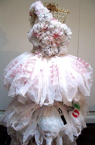 Are Plastic bag dresses something