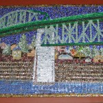 Manette Bridge Bottle Cap Mural by David Ryan