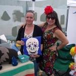 Amanda and Ruby at Make Olympia Street Market