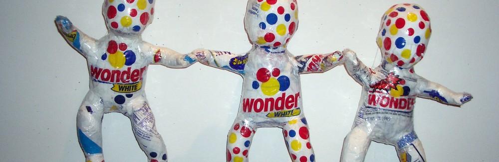 Wonder Bread Bag Art