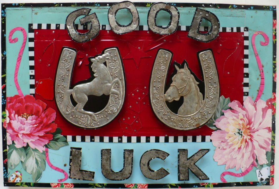 Our wish for 2014: Good Luck (by Jenny Fillius)