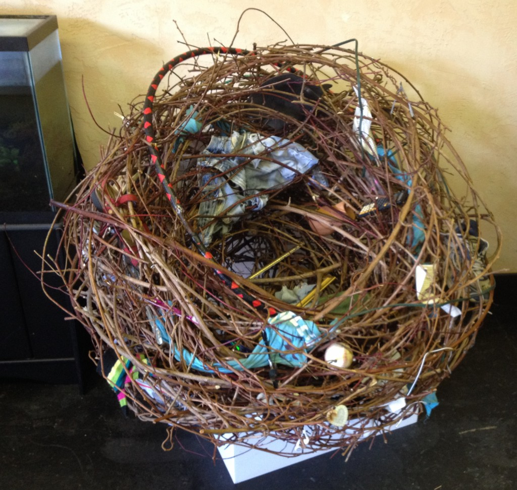 """Salvage"" nest by Cynthia Salazar and Joe Batt"