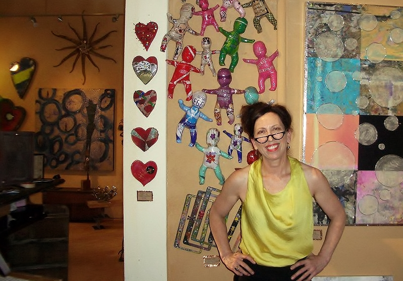 Jo Gallaugher, founder of Matter Gallery, July 2012