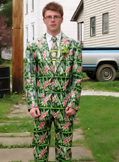 Mountain Dew suit by Jason Hemperly
