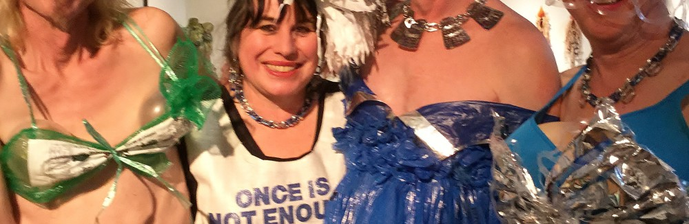 Upcycled Style Trash Fashion Show at the Schack Art Center