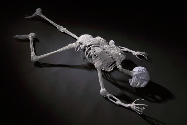 Waste Skeleton by Elliott Mariess