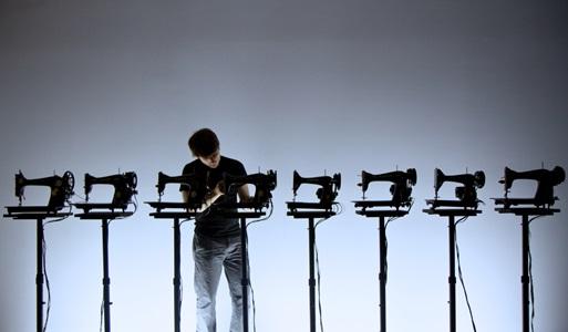 Martin Messier, Sewing Machine Orchestra (Photo : Alexis Bellavance)