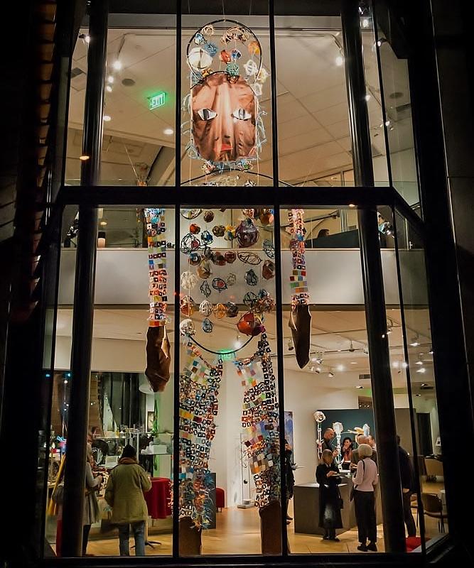 Marita Dingus installation at BIMA photo by Robert Wade